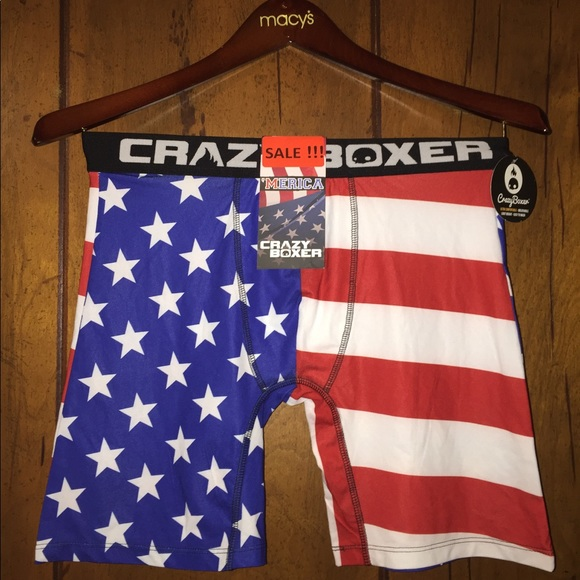 CRAZY BOXER Other - CRAZY BOXER AMERICAN FLAG PRINTED ( S/M/ L )